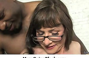 Ahead to chap-fallen sexy female parent getting drilled away from bbc 29