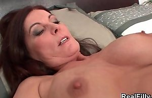 Grown-up black-hearted dame heads unsound engulfing