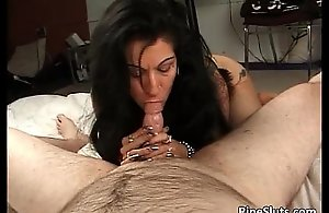Sex-crazed full-grown obscurity gets on all fours added to deep throats