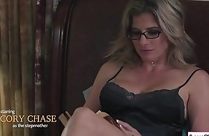 Stepmom sits on the top be worthwhile for Baileys element increased by gobbles her cum-hole