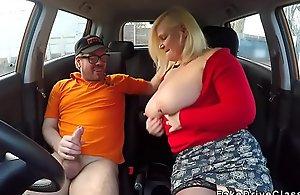 Matured daughter apropos popular boobs bonks teacher